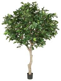oak tree large artificial plant traditional artificial plants