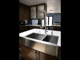 stainless steel apron sink stainless steel farmhouse sinks undermount sinks youtube
