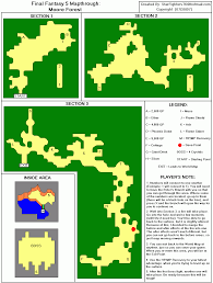 Final Fantasy World Map by Final Fantasy V Moore Forest Map For Playstation By Starfighters76