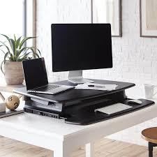 36 Inch Computer Desk Adjustable Height Desk Pro Series Varidesk Standing Desks
