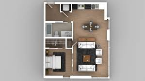 model urban 1x1 floor plans