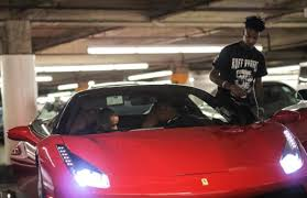 matte green ferrari drake bought 21 savage a ferrari for his 24th birthday complex
