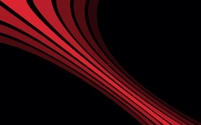 Simple Wallpaper Black Background Digital Art Simple Red Lines Minimalism