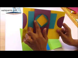 diy paper crafts how to make magic card tutorial shutter card