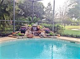 garden water fountains pool tropical with tropical landscape