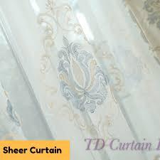beige ivory cream swag drape sheer fabric eyelet pleat valance