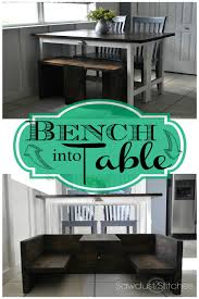 ana white bench that converts to toddler table diy projects