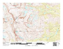Crestone Colorado Map by Far From Home Guthook Hikes