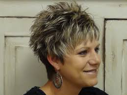 short hairstyles for women over 60 with round faces trend