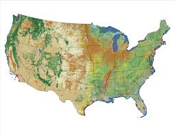 Where Is Alaska On The United States Map by Multi Resolution Land Characteristics Consortium Mrlc
