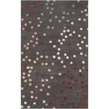 Gray Accent Rug Formosa Silt Green 3 Ft 3 In X 5 Ft 3 In Area Rug Dark Gray