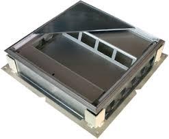 canap de sol canal noyé avec boîte de sol pour chape