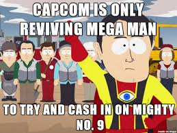Mega Man Memes - after canceling legends 3 mega man universe and cutting him out