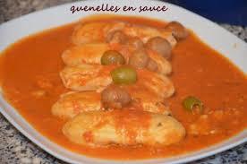 cuisiner quenelle quenelles lyonnaises en sauce tomate le sucré salé d oum souhaib