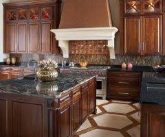 oklahoma city baltic brown granite countertop kitchen traditional