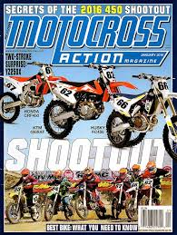 motocross action 450 shootout have you seen the new mxa it s worth a look motocross action magazine