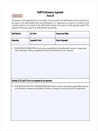 Performance Appraisal Report Sample 7 Monthly Review Form Sample Free Sample Example Format Download