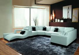 ultra modern 3pc living room set leather paris white awesome modern corner sofas and leather for sofa set living in white