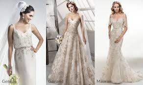 gold wedding gown colored wedding dresses pink gold pewter maggie