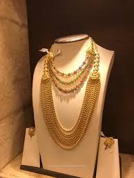 bridal bracelet gold images Gold bridal jewellery choker long necklace south india jewels jpg