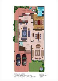 house plan marla design gharplans pk 3110 map with basement first