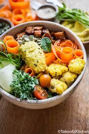 Hummus Kitchen Sweet Potato Hummus And Cauliflower Buddha Bowl