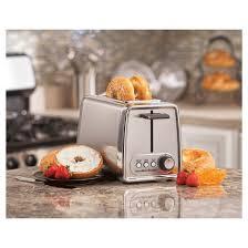 Modern Toaster Hamilton Beach Modern Chrome 2 Slice Toaster 22791 Target