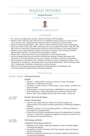 Data Architect Sample Resume by Principal Architect Resume Samples Visualcv Resume Samples Database