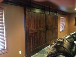 sliding interior barn doors basin custom 26 u0027 hex sliding interior barn door hardware track