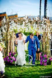 wedding arches san diego custom event productions custom event productions