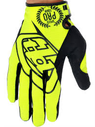 Troy Lee Designs Yellow 2014 Se Pro Mx Gloves Troy Lee Designs