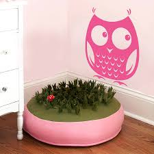 woodland owl wall sticker decal cute animal decals for kids woodland owl wall sticker decal cute animal decals for kids bedroom nursery vinyl wall decal removable home decoration za733 in wall stickers from home