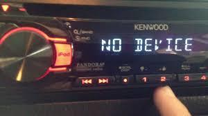 kenwood head unit kdc 252u demo in my mk3 youtube