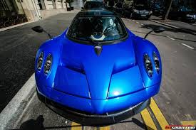 blue pagani gallery blue pagani huayra in paris by jayr photography gtspirit