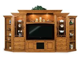solid wood entertainment cabinet amish wall units solid wood