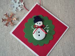 button snowmen gift tags the saturday evening post