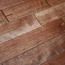 maple prairie brown 3 4 x 4 3 4 scraped solid hardwood