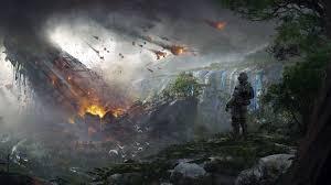 Popular Wallpaper by Wallpaper Titanfall 2 Soldier Destruction Concept Art 4k