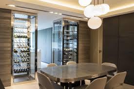 cave a vin cuisine appartement c 2 caves à vin pour une séparation cuisine salle à