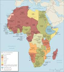 German States Map by Map Showing The Decolonization Of Africa Maps On The Web