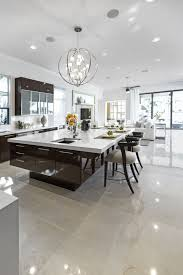 Modern Kitchen With Island 84 Custom Luxury Kitchen Island Ideas Designs Pictures Brown