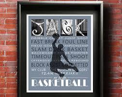 basketball gift etsy