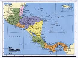 North America Maps by Detailed Political Map Of Central America Central America And