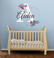boys name wall decals