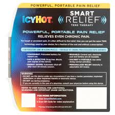 icy smart relief tens therapy for back and hip starter pack