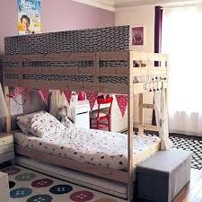 chambre fille avec lit superposé chambre fille avec lit superpose chambre ado fille avec lit