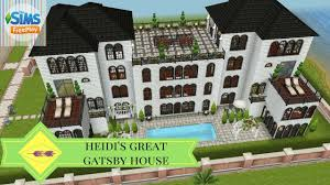 the sims freeplay heidi u0027s great gatsby house neighbor u0027s
