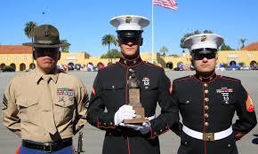 recruit honor grad spotlight pfc bergdahl marine corps association