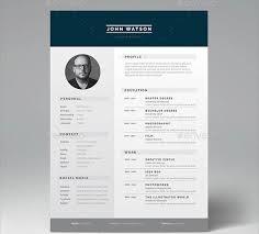 Minimalist Resume 16 Great Resume Indesign Templates U2013 Desiznworld