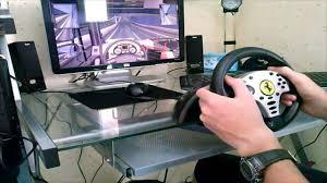 challenge ps3 test volant thrustmaster challenge wheel
